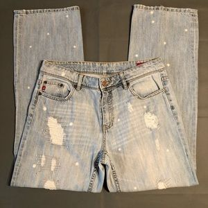 Seven 7 distressed jeans